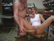 Une partie de sexe dur dans le garage
